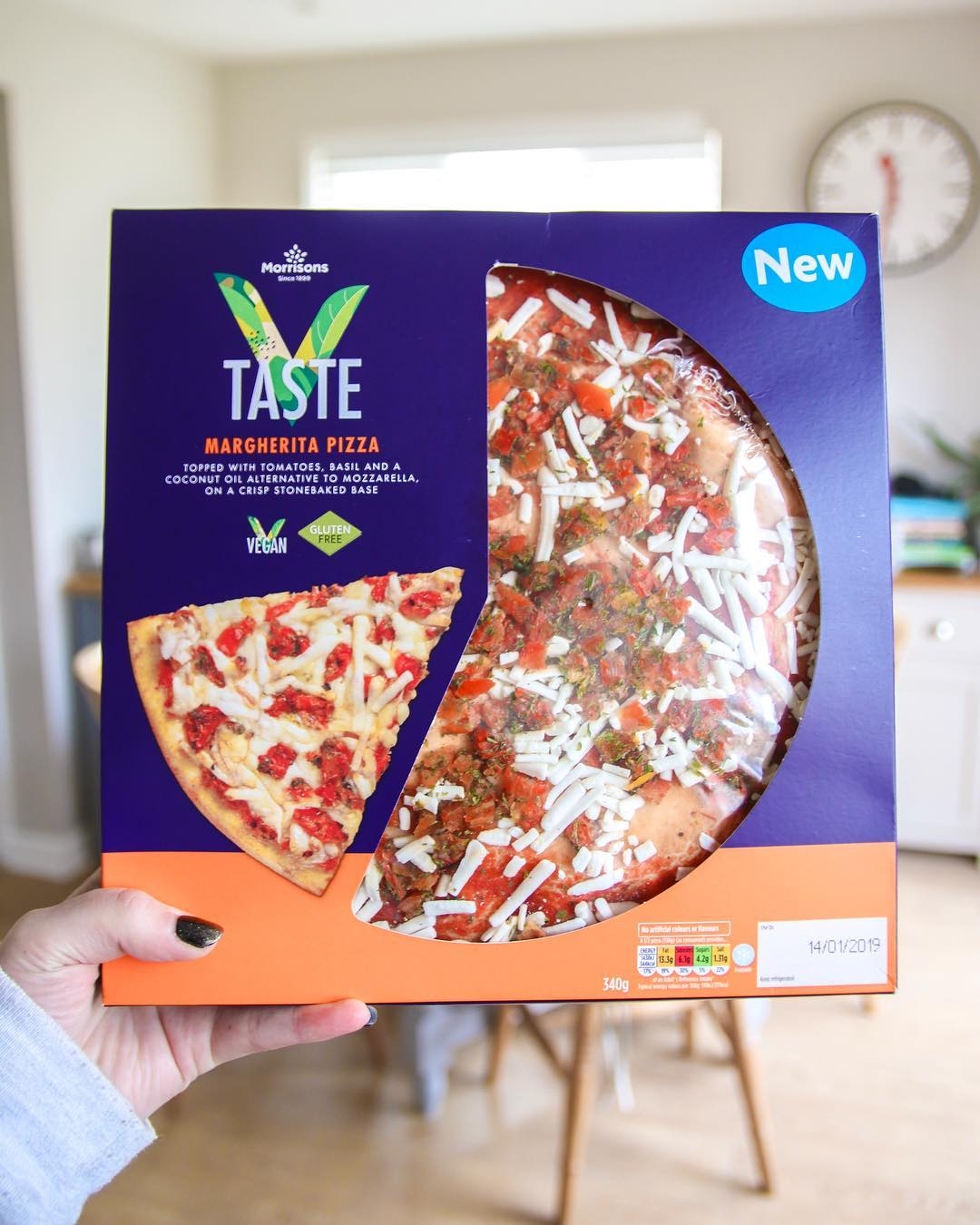 morrisons gluten-free vegan pizza