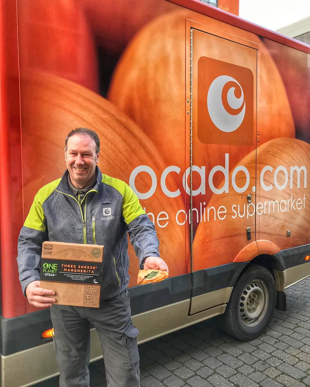 one planet pizza ocado