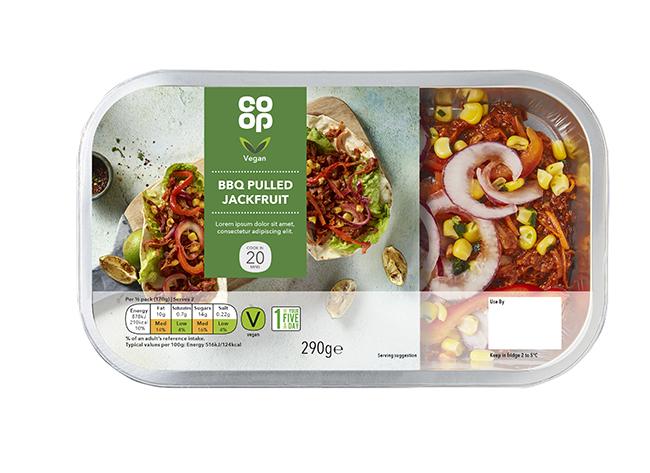 co-op vegan range