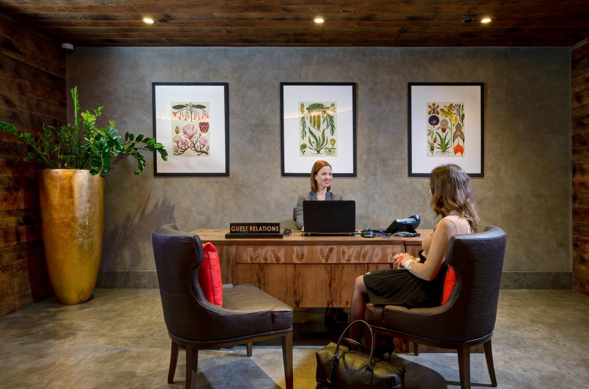 hilton vegan hotel suite