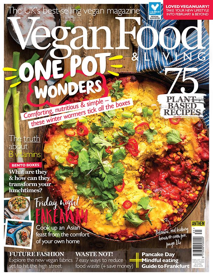 Vegan Food & Living February 2019