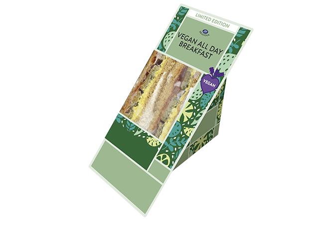 boots vegan blt sandwich