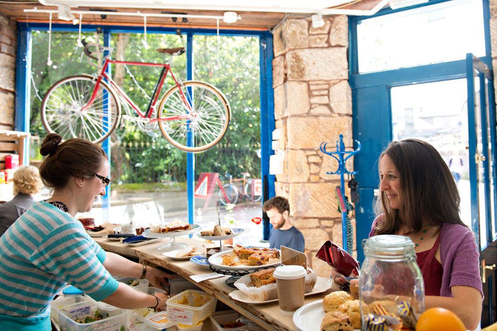 vegan restaurants for cyclists