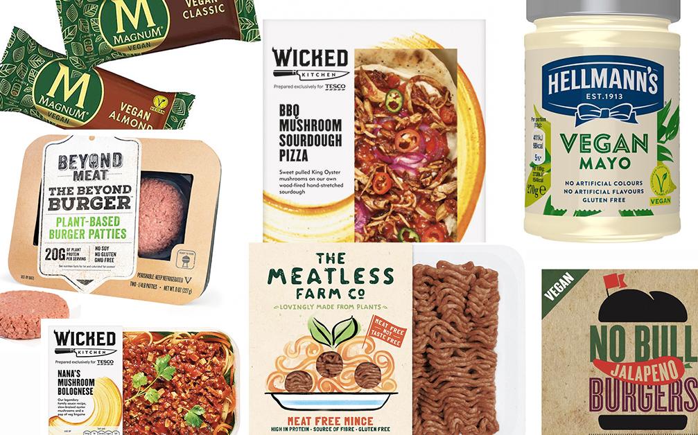 uk vegan food launches