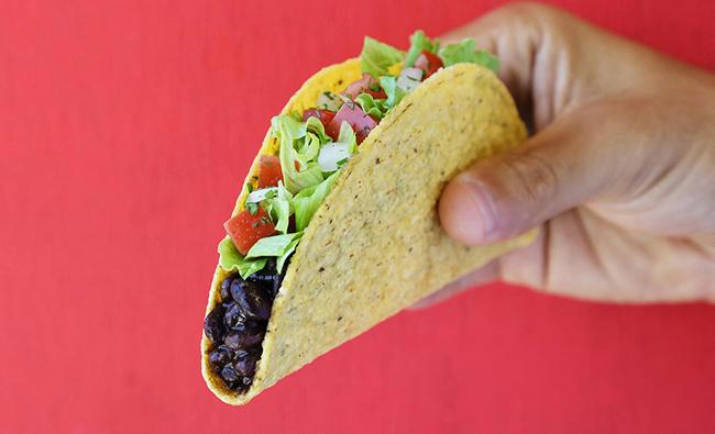 taco bell vegan menu