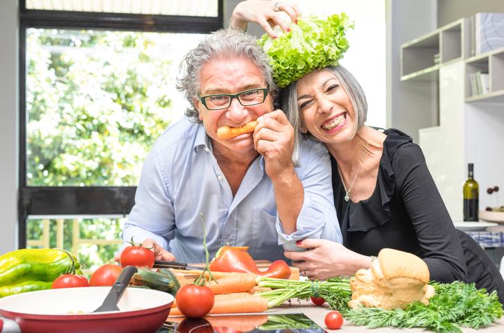 over 60s going vegan