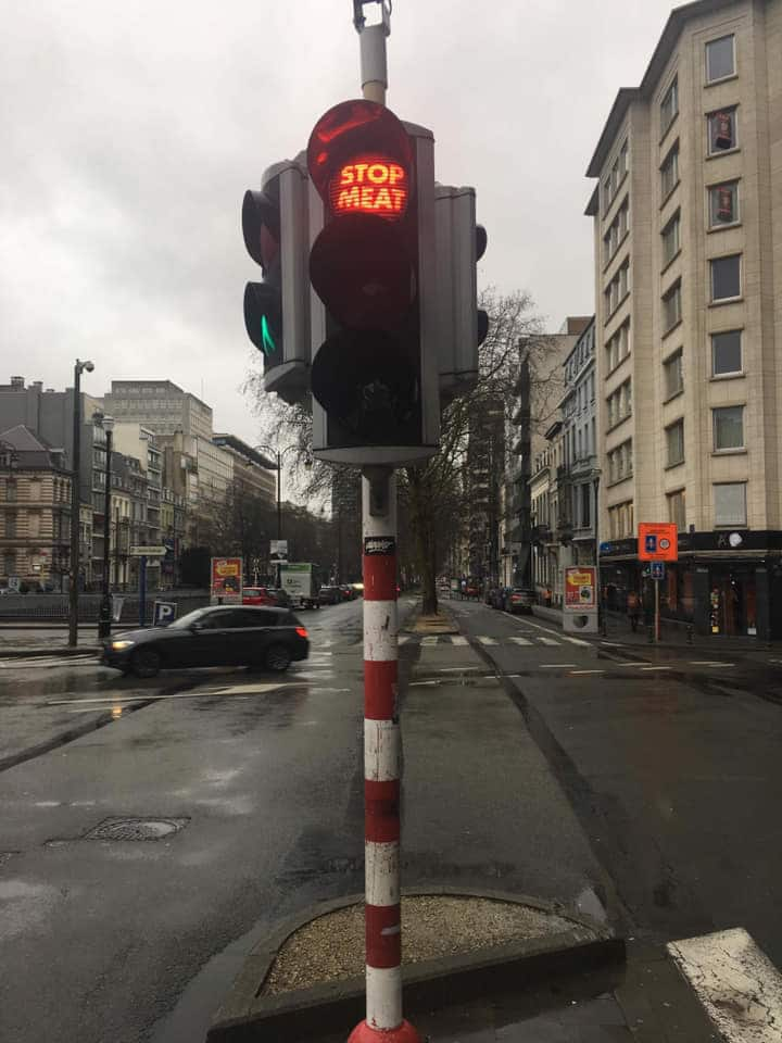 vegan traffic lights belgium
