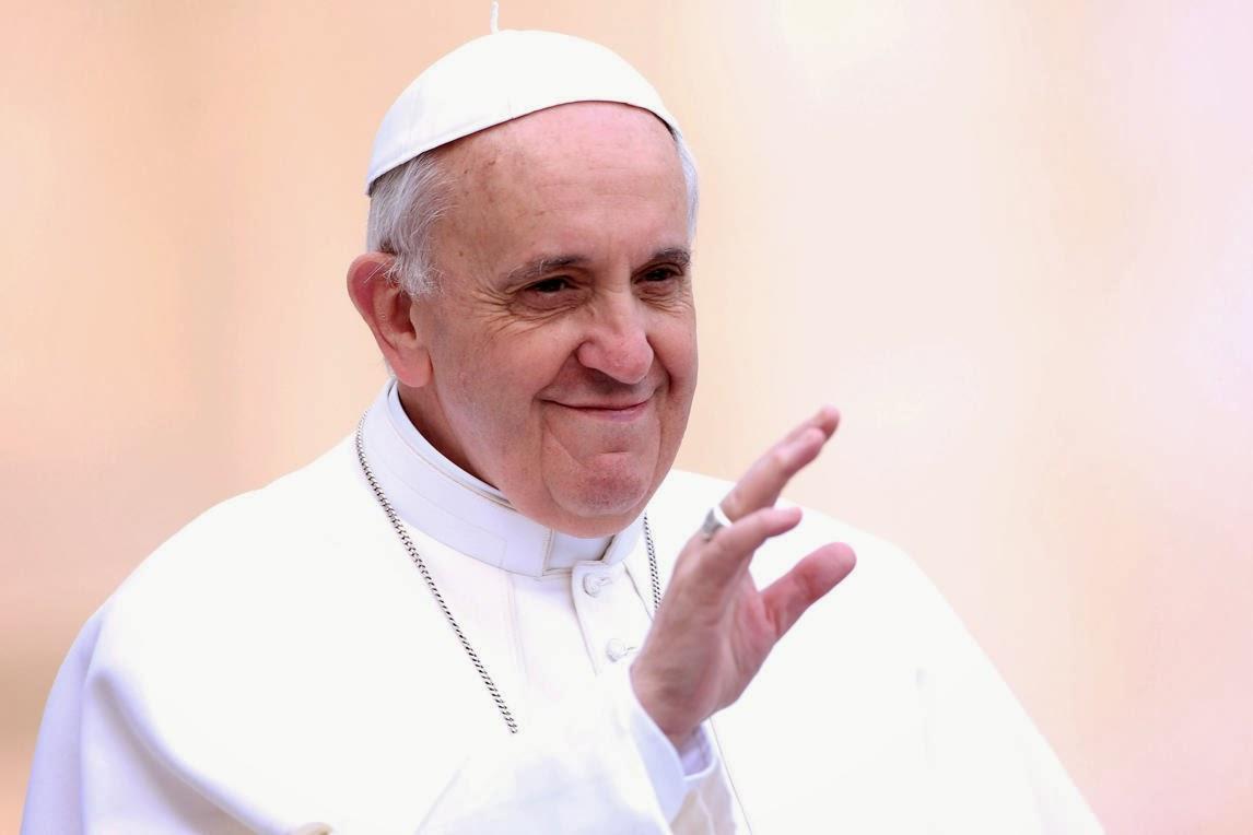 pope francis going vegan for lent