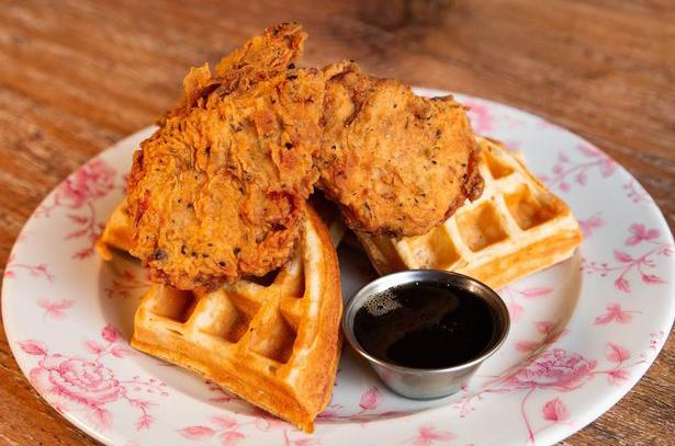 Fried chicken restaurant Absurd Bird launches vegan menu with 'chicken' waffles