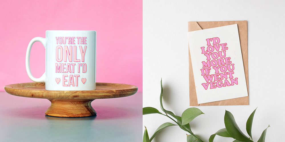 Cheeky vegan Valentine's gifts for naughty vegans