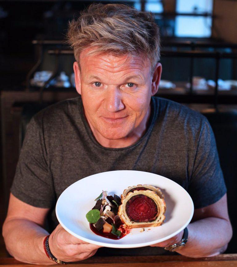 Gordon Ramsay has added a vegan Sunday roast to his restaurant menu