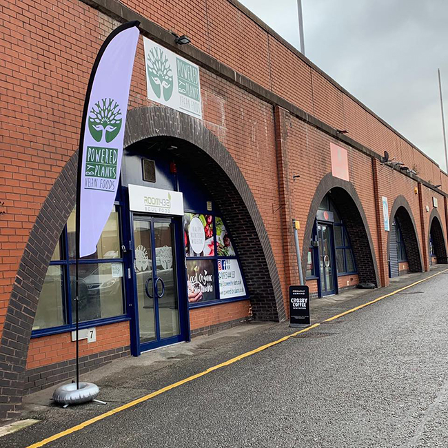 A completely vegan grocery store has opened in Warrington