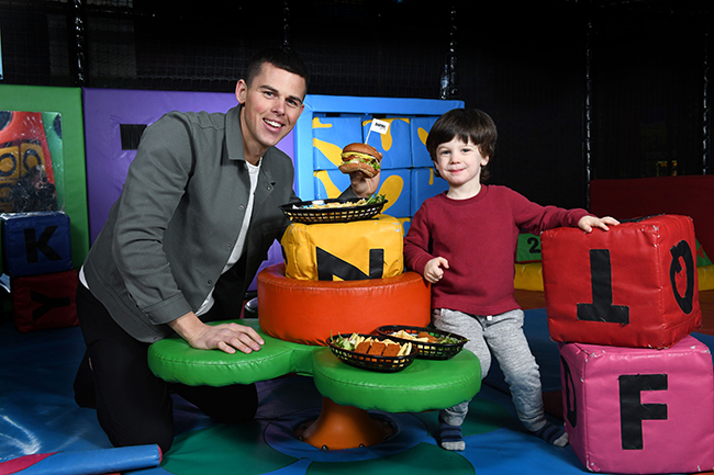 daring foods launch in play centres