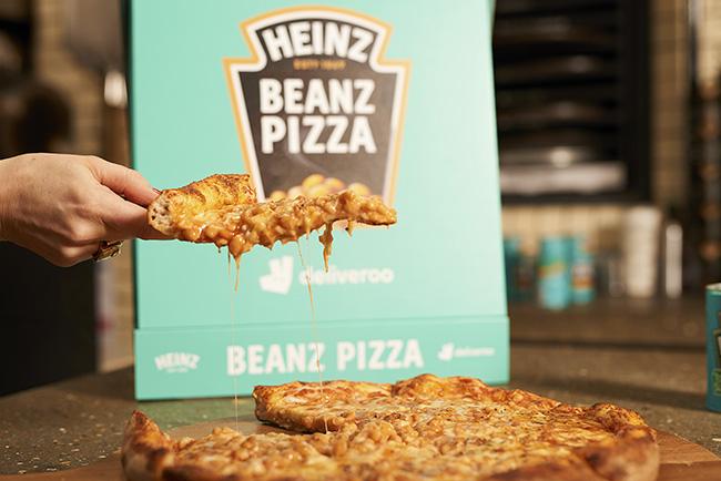 heinz beanz vegan pizza