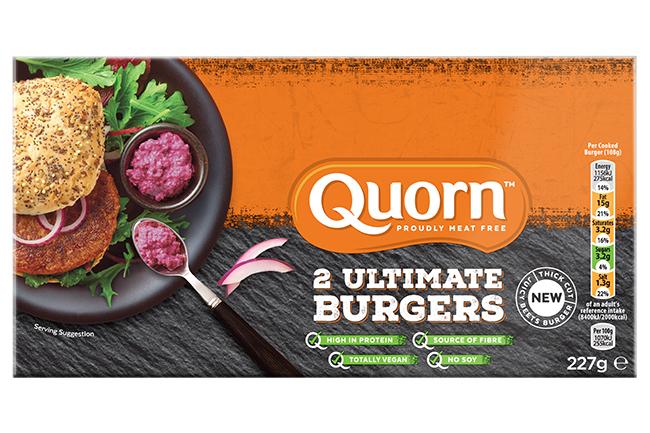 quorn ultimate vegan burger