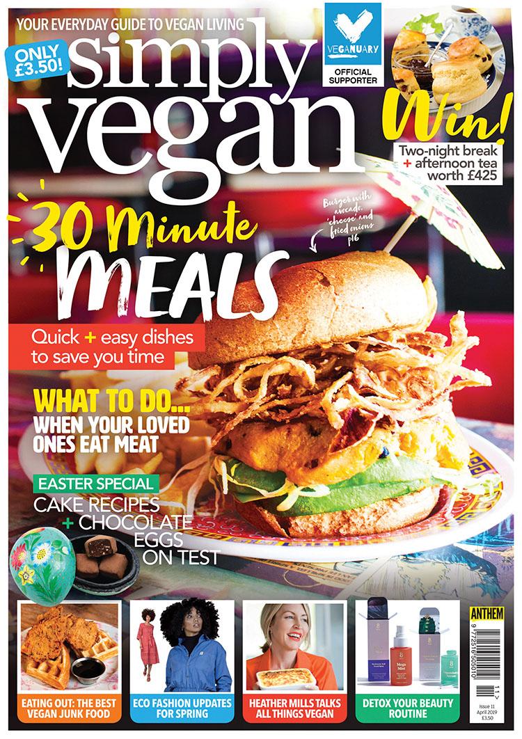 Simply Vegan April 2019