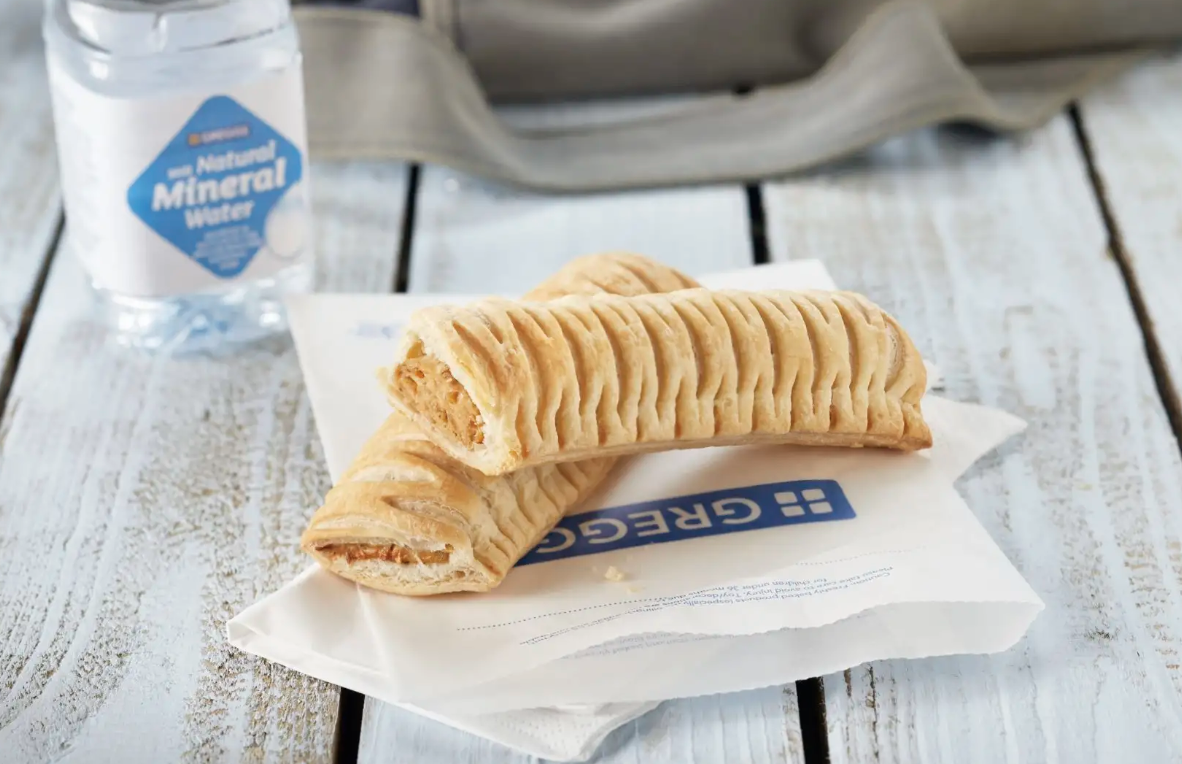 greggs vegan sausage roll boosts profits