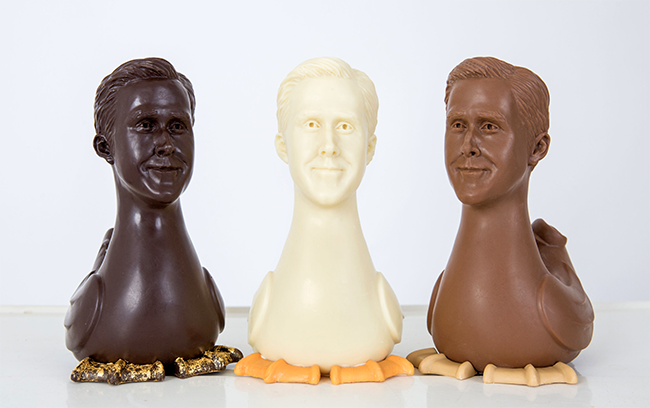 Hey girl: A chocolatier is making vegan Ryan Gosling-shaped chocolates