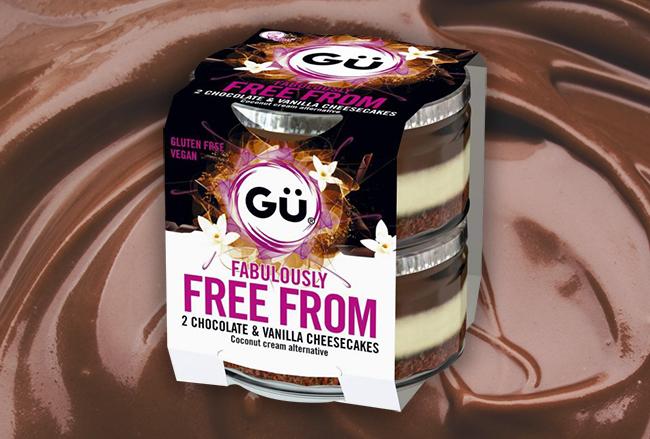 Gü has launched three brand new decadent vegan desserts