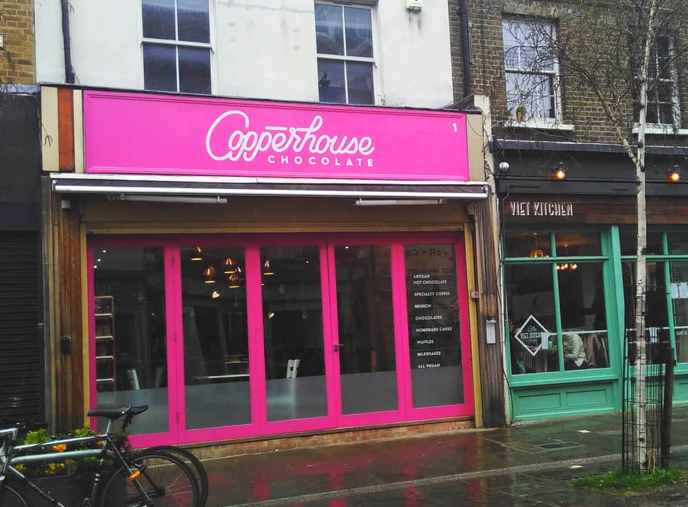 Discover London's only completely vegan chocolate shop
