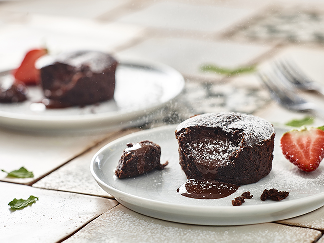 Iceland has just launched melt-in-middle vegan chocolate fondant puddings