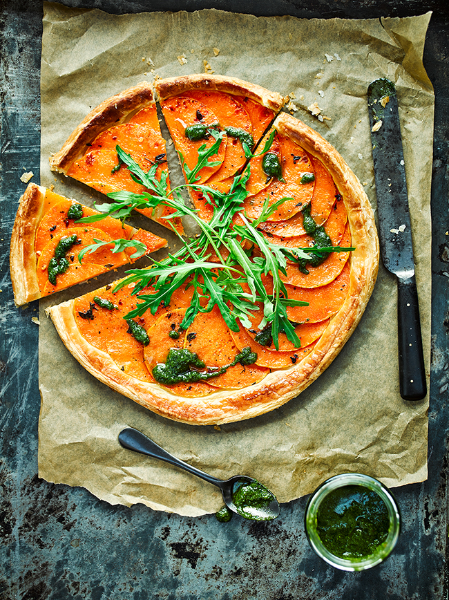 Vegan Butternut Squash Tart recipe