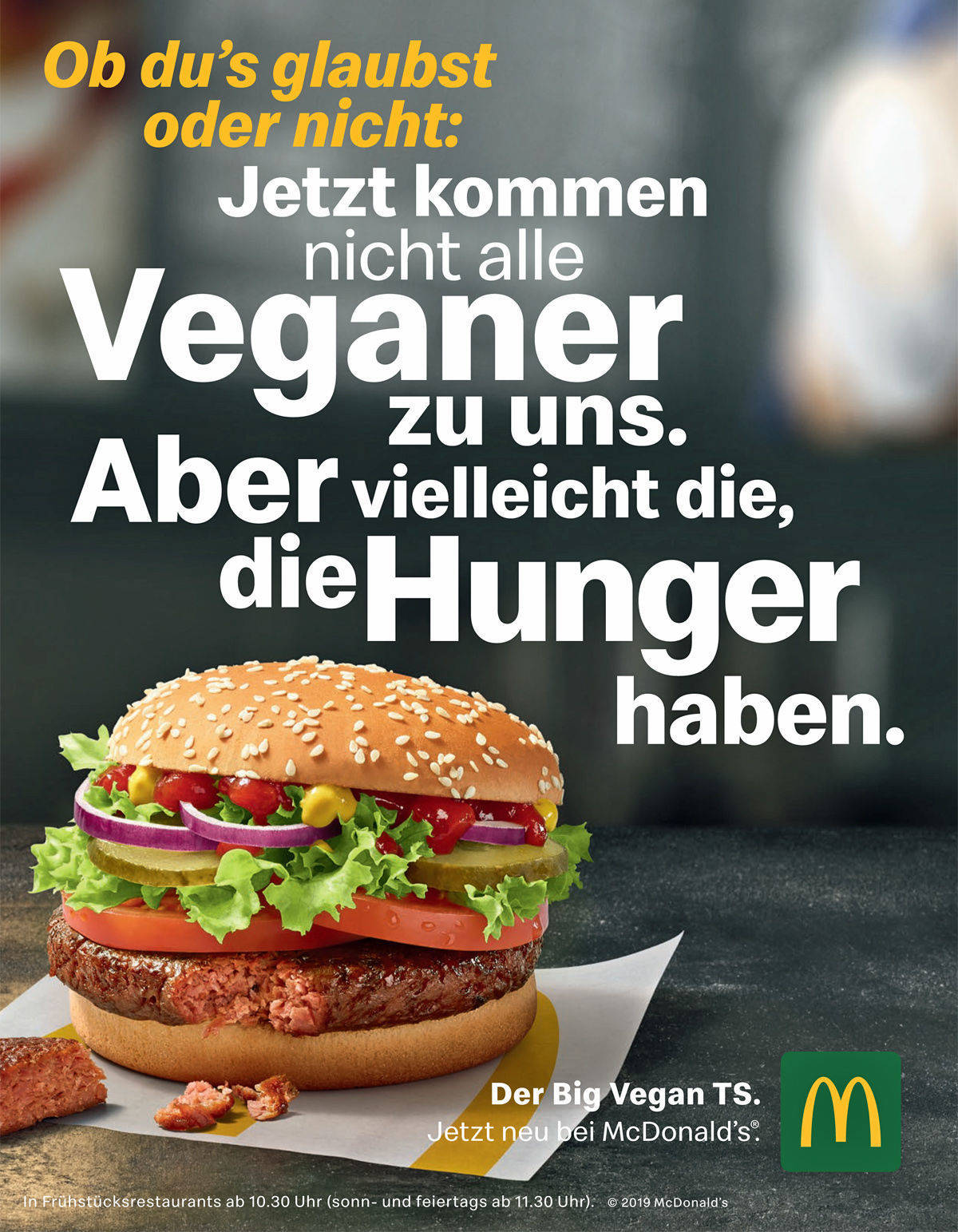 mcdonalds vegan burger germany