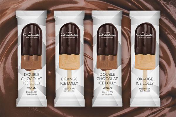 Hotel Chocolat vegan ice-lollies