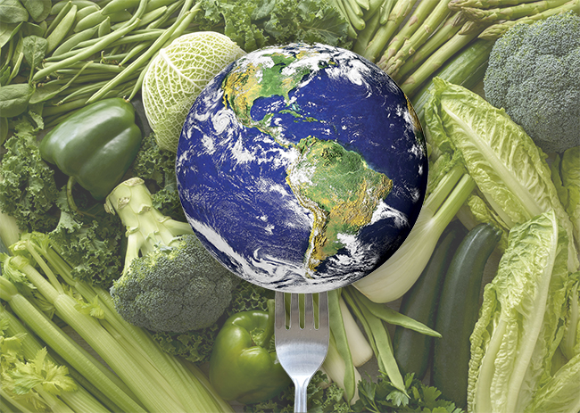 Can we save the planet with our forks?
