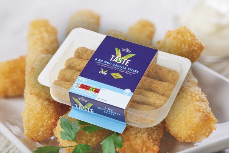 Morrisons has just launched vegan mozzarella sticks