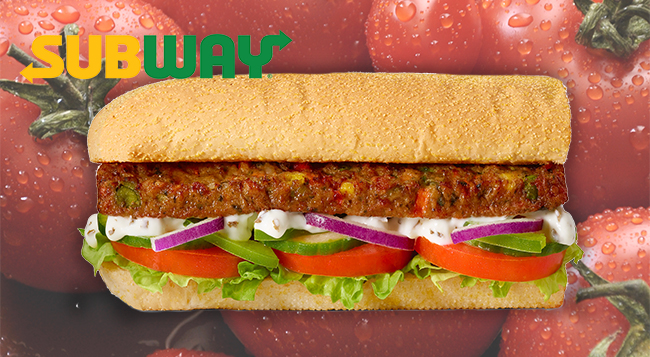 Subway is launching its first ever vegan sub with garlic aioli