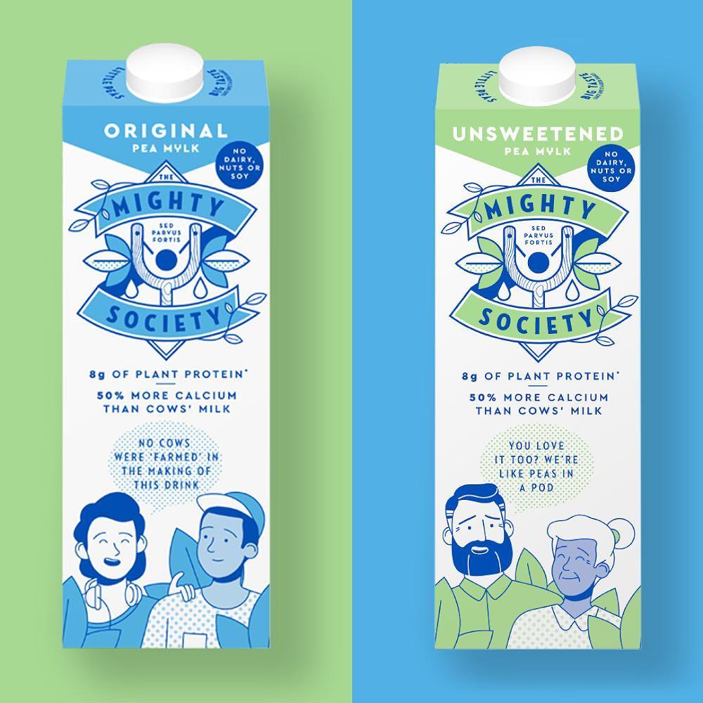 vegan pea milk sainsbury's
