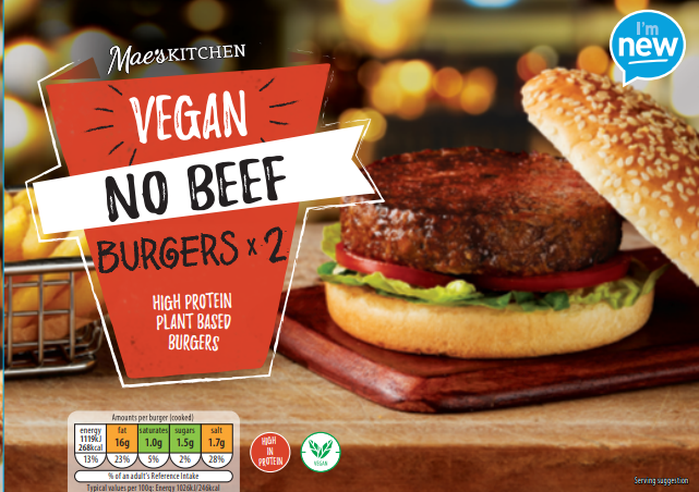 Aldi launches New Vegan Chicken Burgers and Sausage Rolls -