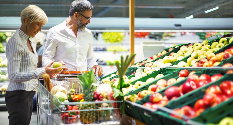 fruit and vetegable aisle