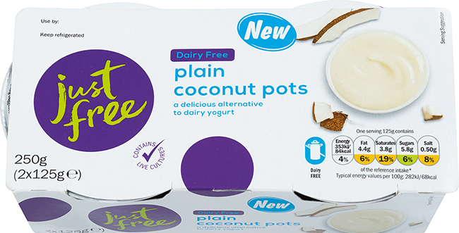 lidl vegan yoghurts