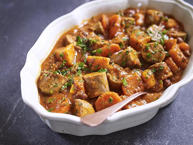 Vegan Sausage Casserole