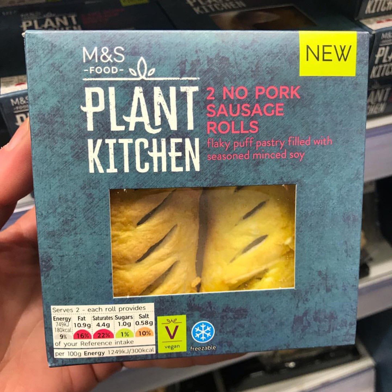 marks and spencer vegan sausage rolls