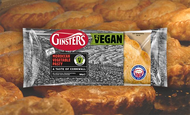 ginster vegan pasty