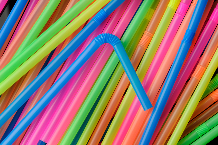 plastic straws banned in england