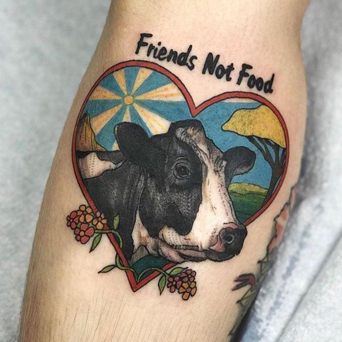 vegan tattoo ideas