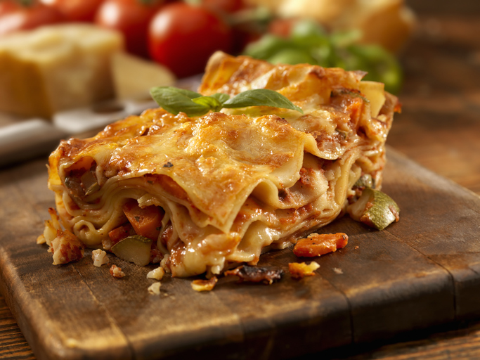 morrisons cafe vegan lasagne