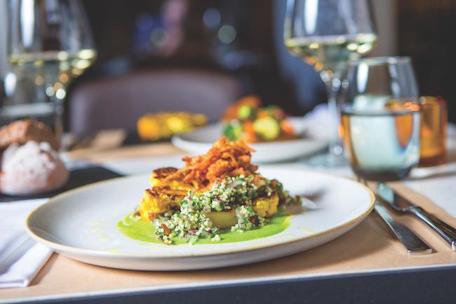 uk hotels with vegan menus