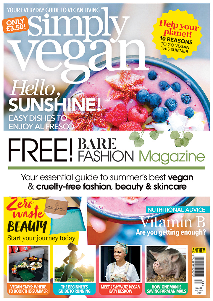 simply vegan magazine