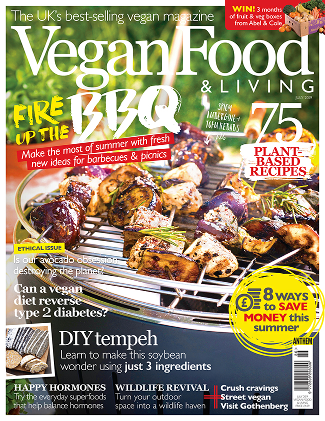 vegan food & living july 2019