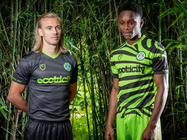 forest green rovers bamboo football kit