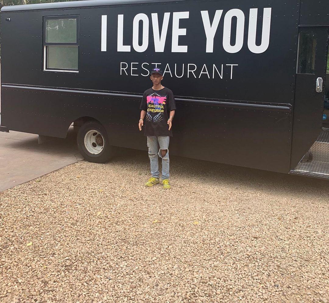 jaden smith vegan food truck
