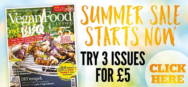 Vegan Food & Living Magazine - Vegan Magazine | Vegan Food & Living
