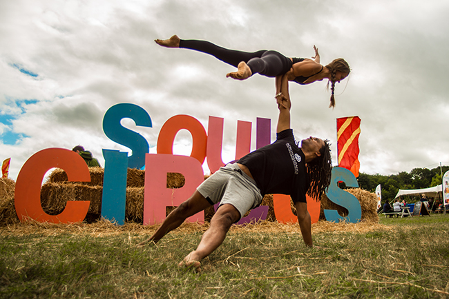 WIN! A pair of weekend tickets to Soul Circus wellbeing festival!
