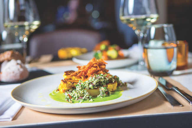 Eating out: UK chain hotels offering vegan menus