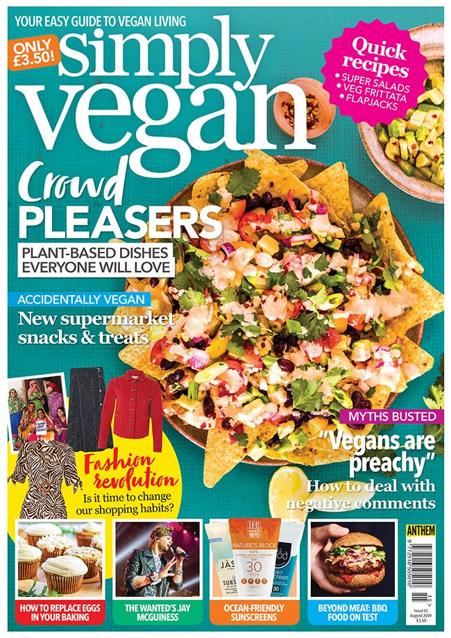 Simply Vegan August 2019